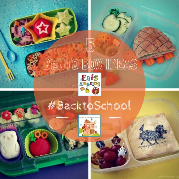 back to school bento lunches