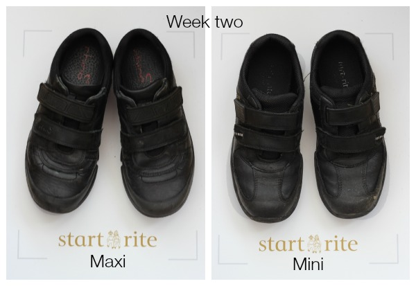 Startrite shoes week two