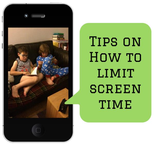Tips onHow tolimitscreentime