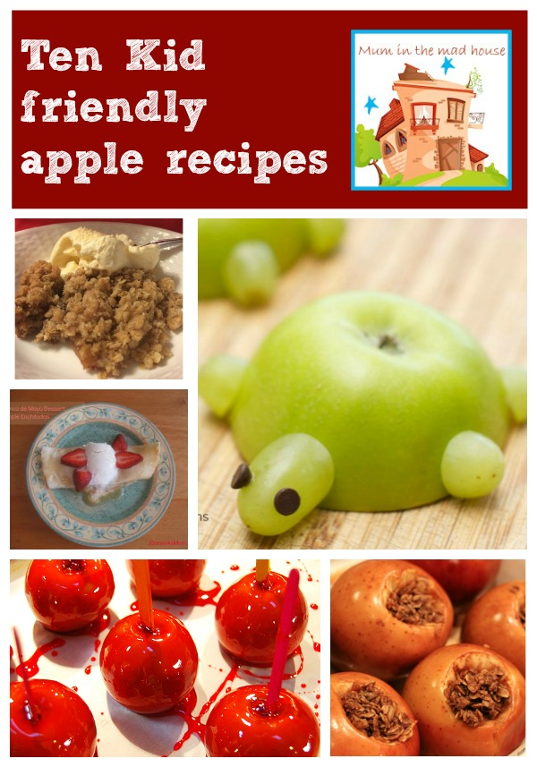 10 kid friendly apple recipes