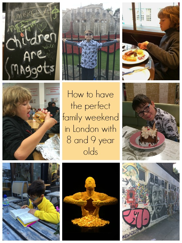 The perfect family weekend in London with 8 and 9 year olds