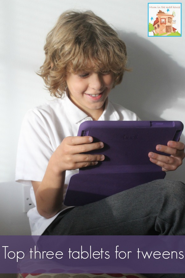 top three tablets fro tweens