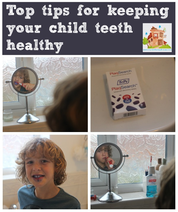 top tips on how to keep your child's teeth healthy
