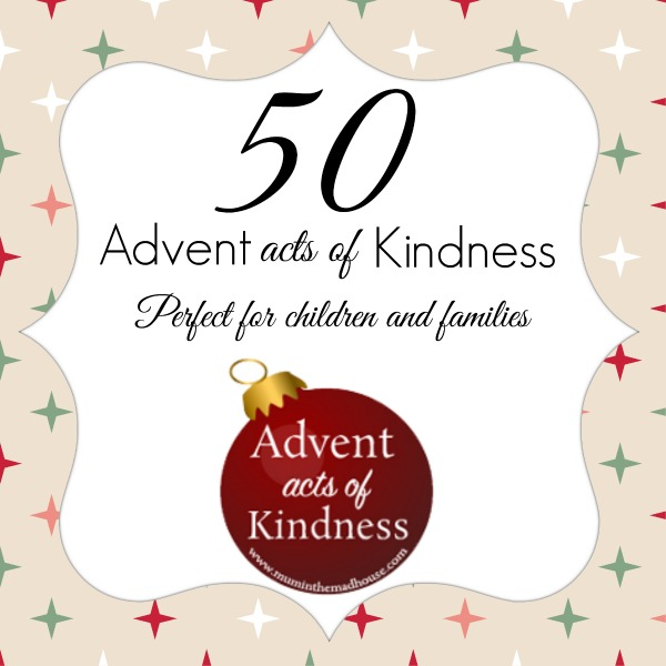 50 advent acts of kindness