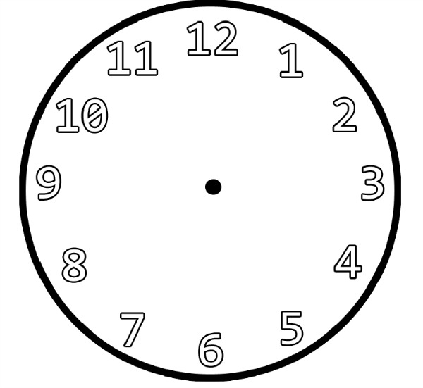 """Search Results for """"Printable Blank Clock"""" – Calendar 2015"""