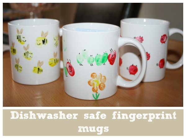 dishwasher safe kids fingerprint mugs