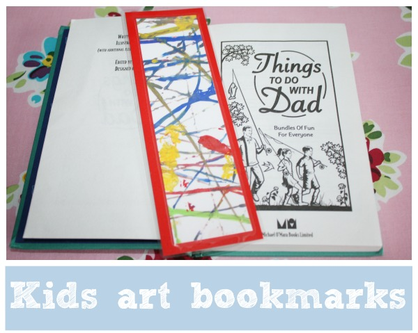 kids art book marks