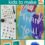 Homemade thank you cards for kids to make