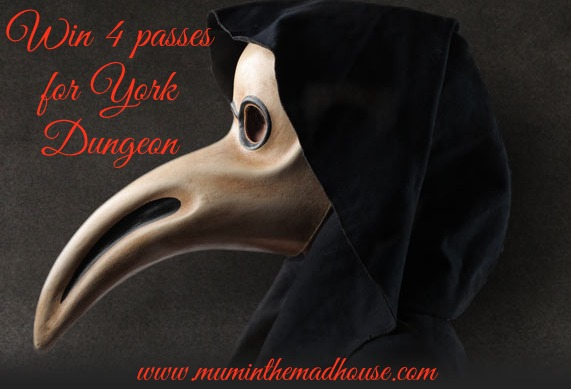 four passes for York Dungeon
