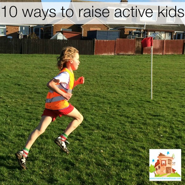 10 Ways to get your kids Active kids