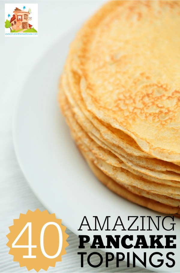 40 amazing pancake toppings