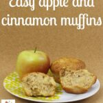 A is for Apple Muffins, cooking with Kids