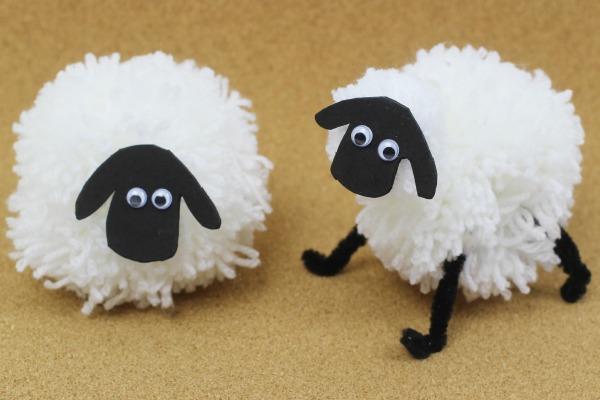 Pompom sheep 3