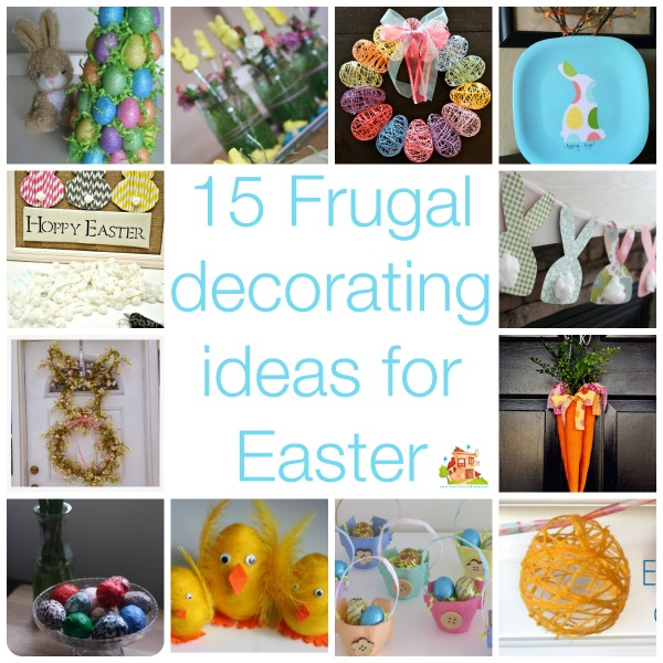 15 frugal decorating ideas