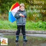 15 Spring outdoor activities for kids