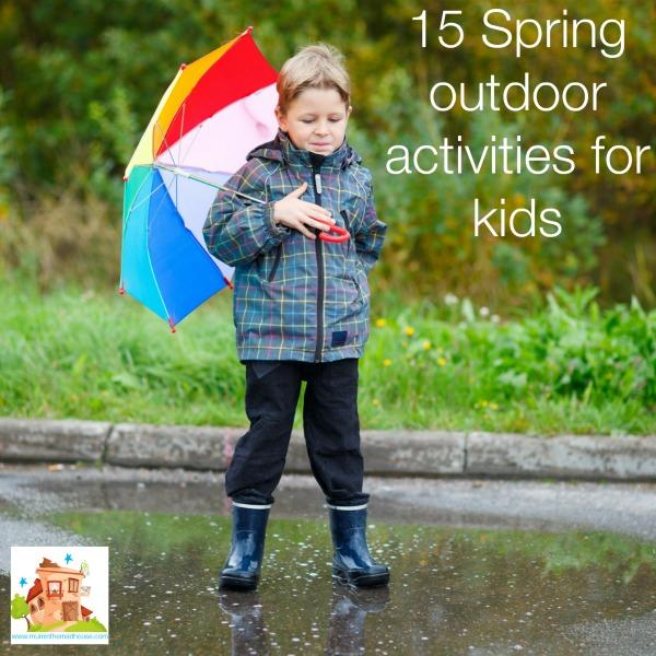15 outdoor spring activities