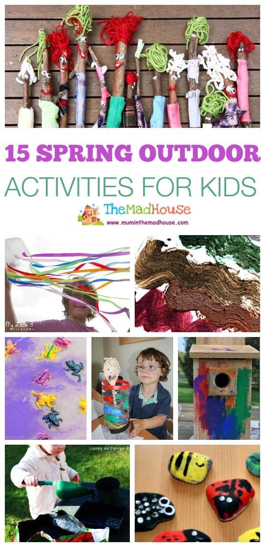 15 spring outdoor activities for kids