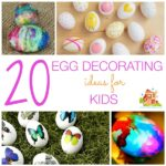 20 Easter egg decorating ideas for kids