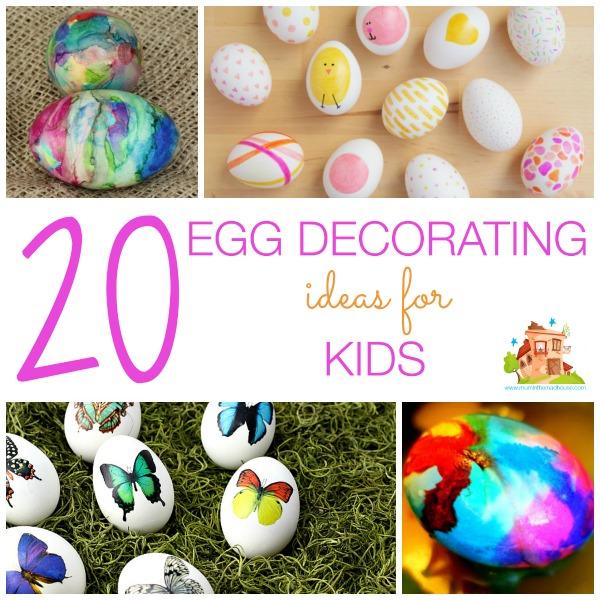 20 egg decorating ideas for kids