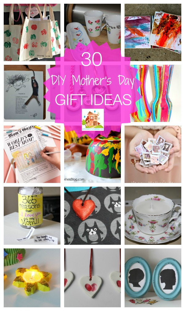 30 diy mothers day gift ideas