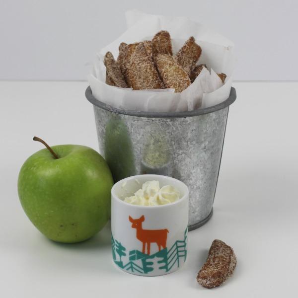 Cinnamon apple frie 5