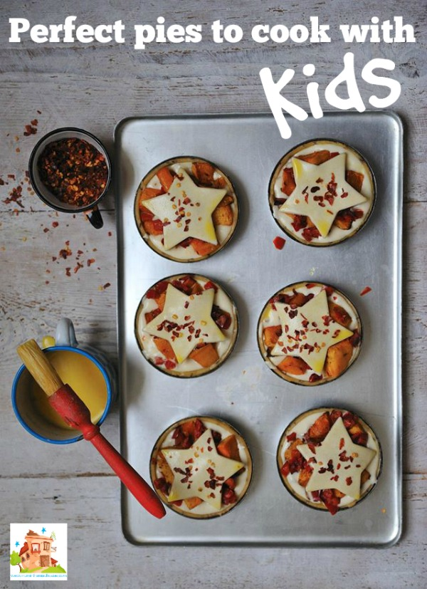 Perfect pies to cook with kids