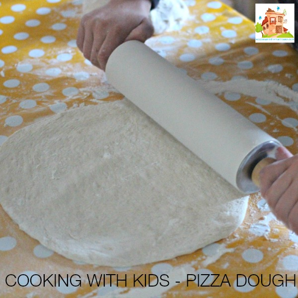 cooking with kids pizza dough
