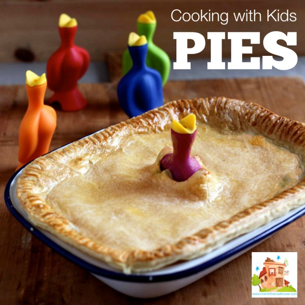 pies cooking with kids