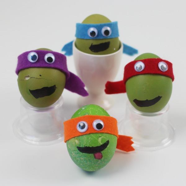 Teenage Mutant Ninja Turtle Decorated Eggs These TMNT Are