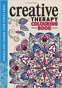 the creative therapy colouring book creative colouring for grown ups us link uk link - Children Colouring Book