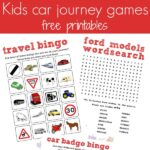 Road trip travel printables and a Ford C-MAX review
