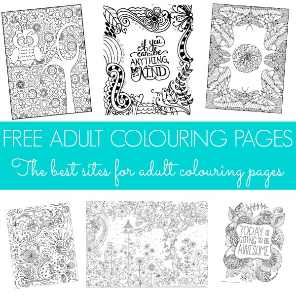 also love the fact that there are so many free adult colouring pages ...
