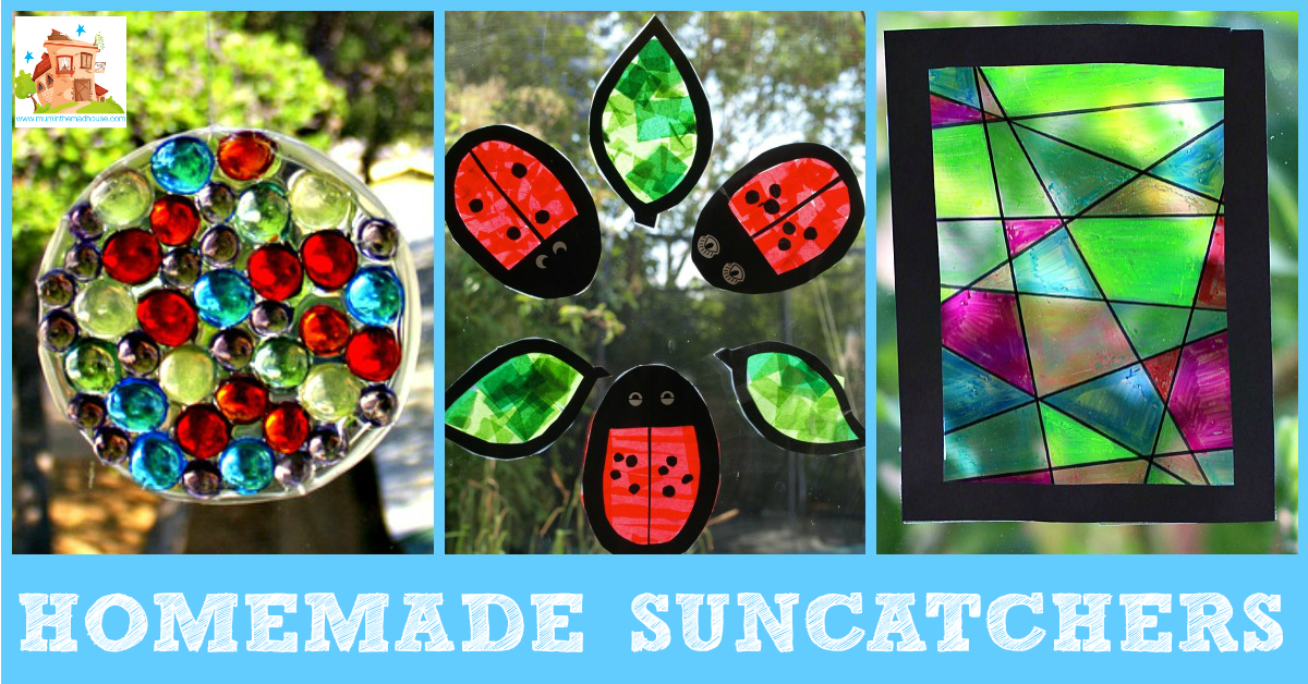 homemade suncatcher facebook