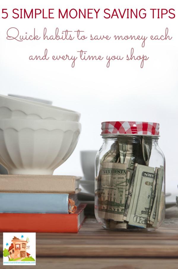 simple money saving ti...