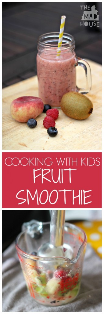 cooking with kids fruit smoothie