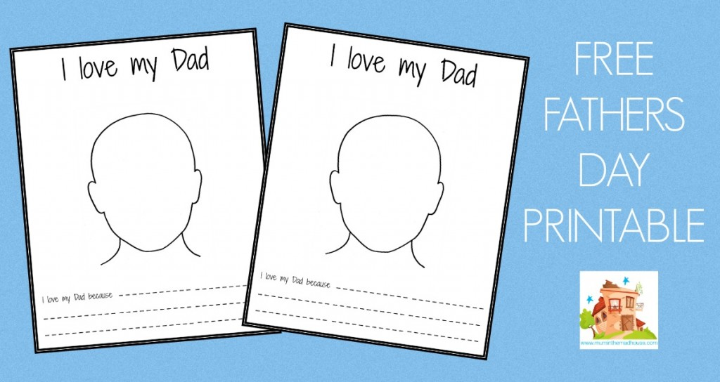 fathers day printable facebook