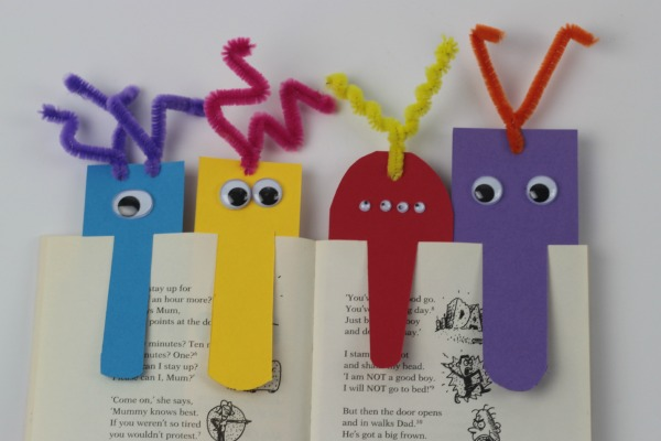 Monster Big Nosed Bookmarks - Mum In The Madhouse
