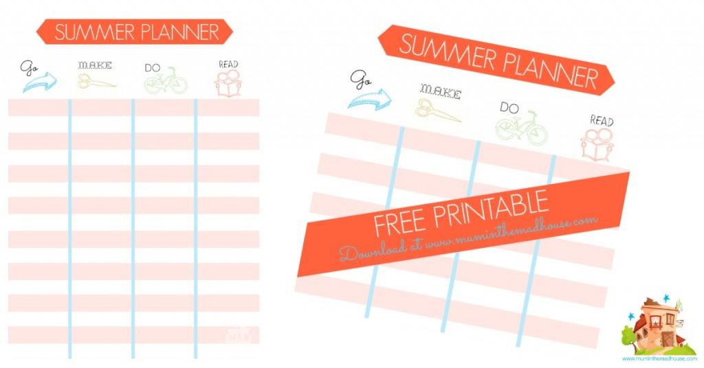 summer planner facebook