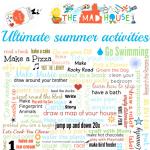 Summer bored jar activities