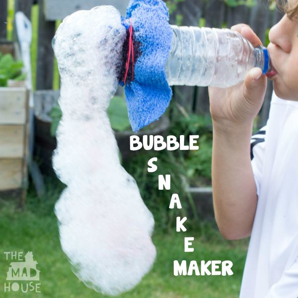 Bubble snake maker squa