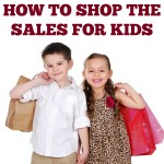 How to shop the summer sales for kids