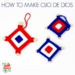 How to make God's Eyes/Ojo de Dios