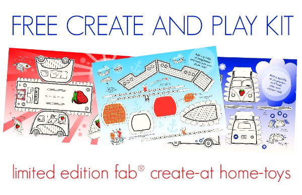 limited edition create at home toys