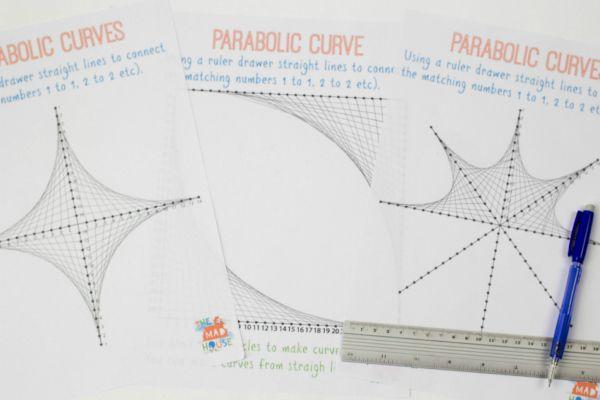 parabolic curves 2