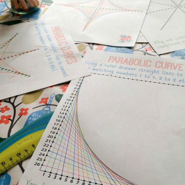 parabolics on table