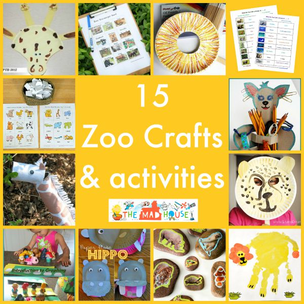 15 zoo crafts and activities