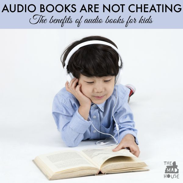 Audio books are not cheating