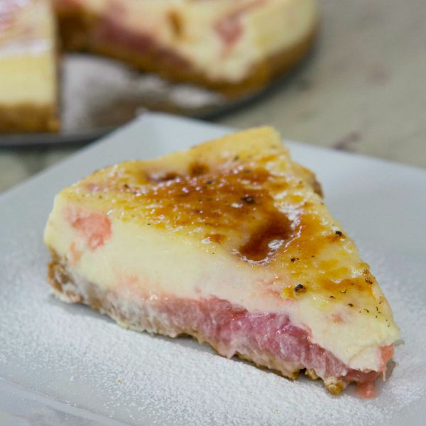 Cheesecake slice square