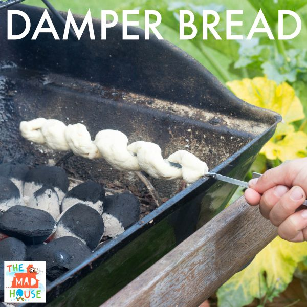 Cook on stick Damper Bread