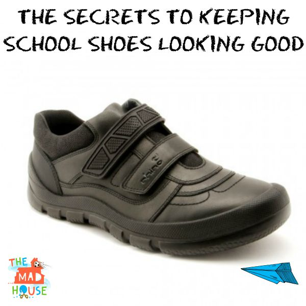 the secret to keeping school shoes looking good